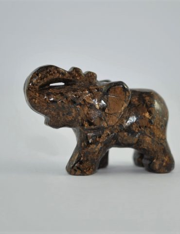 Bronzite Elephant Wishing Well Hobart