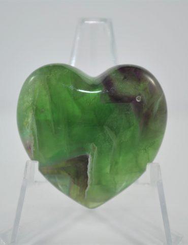 Fluorite Heart Wishing Well Hobart