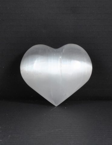 Selenite Heart Wishing Well Hobart