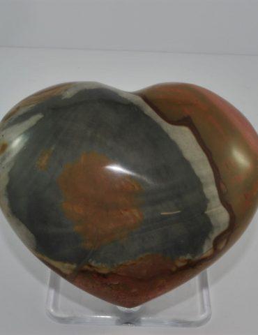 Polychrome Jasper Heart Wishing Well Hobart