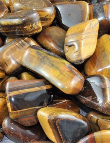 Tiger Eye Crystal Tumbled Stone
