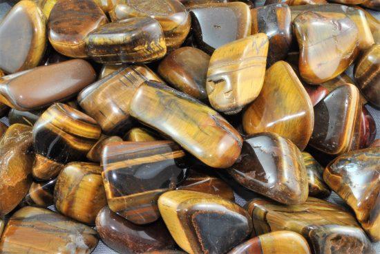 Tiger Eye Crystal Tumbled Stone