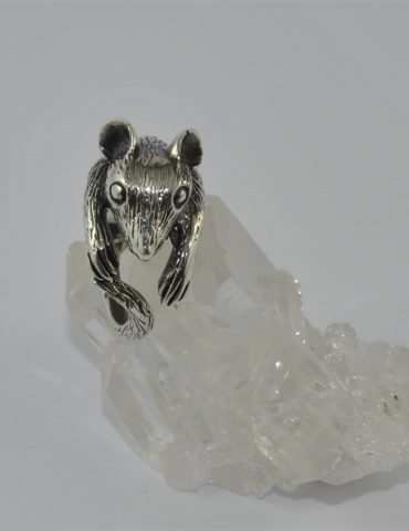 Possum ring sterling silver