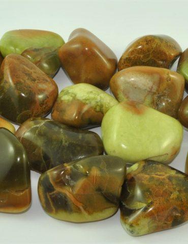 Green Opal Tumbled Stone Wishing Well Hobart