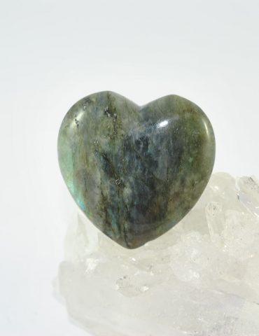 Labradorite Heart Wishing Well Hobart