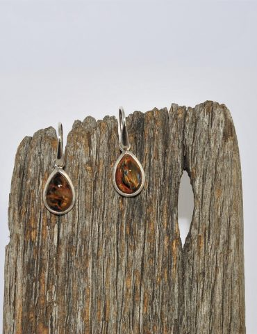 Pietersite Earrings Wishing Well Hobart