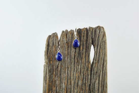Lapis Lazuli Earrings Wishing Well Hobart