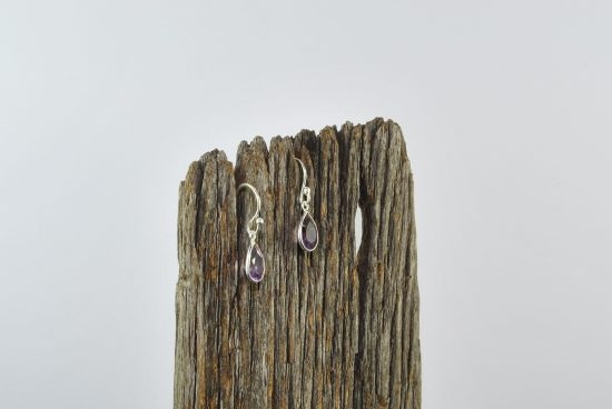 Amethyst Earrings Wishing Well Hobart