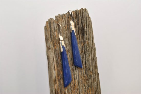 Lapis Lazuli Earrings Wishing Well Hobart