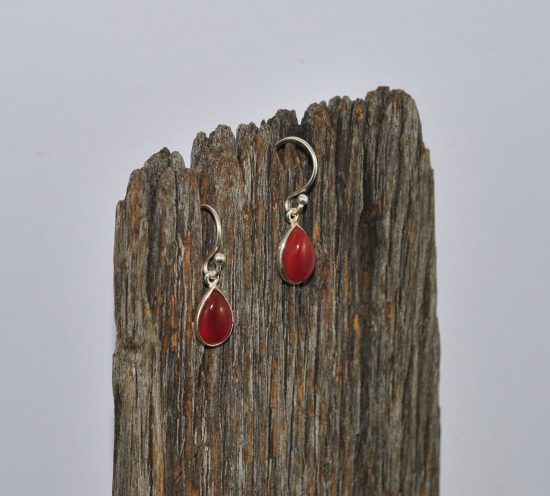 Carnelian Earrings Wishing Well Hobart