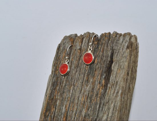 Carnelian Earrings Wishing Well Hobart
