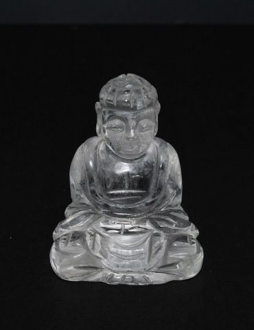 Clear Quartz Crystal Thai Buddha Carving Wishing Well Hobart