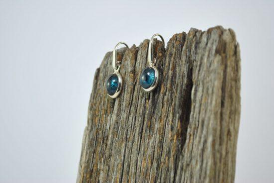 Kyanite Crystal Earrings Wishing Well Hobart