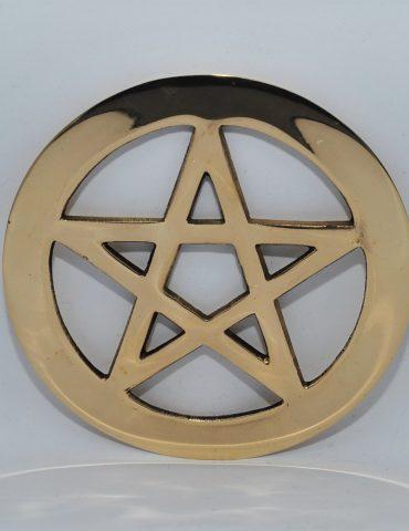 Brass Pentacle Symbol