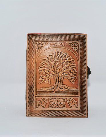 Leather Journal Tree of Life medium