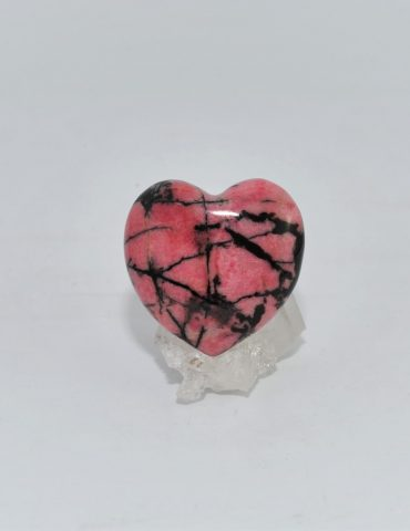 Rhodonite Heart