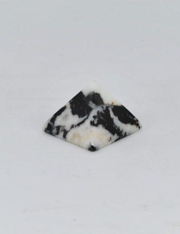 Zebra Rock Jasper Pyramid