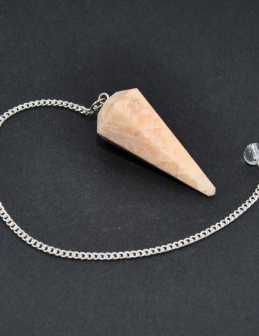 Peach Moonstone Pendulum