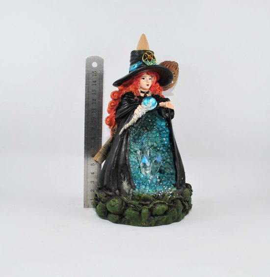 Witch Backflow Incence Burner