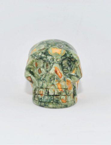 Rhyolite Jasper Skull