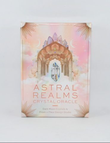 Astral Realms Crystal Oracle Cards