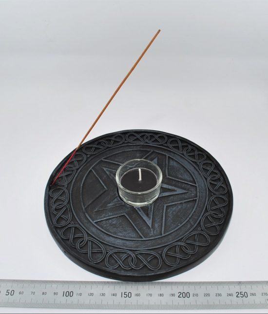 Pentagram Incense Holder , Pentagram Tealight Candle Holder