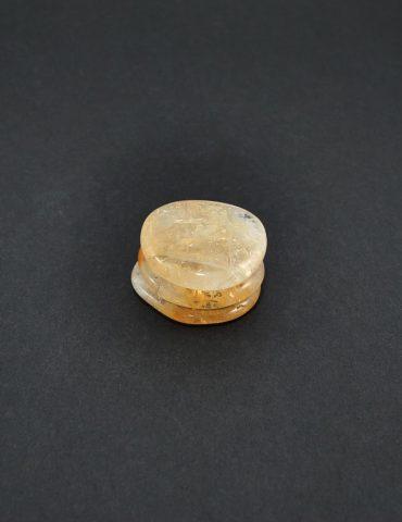 Citrine Palm Stone