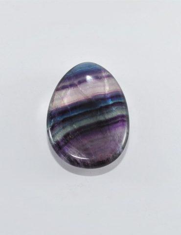Rainbow Fluorite Thumb Stone